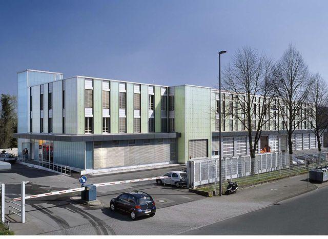 energetisch optimiertes Verwaltungs- und Betriebsgebäude der Remscheider Entsorgungsbetriebe