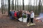 Alle Beteiligten der Baumpflanzaktion am 27.03.2015
